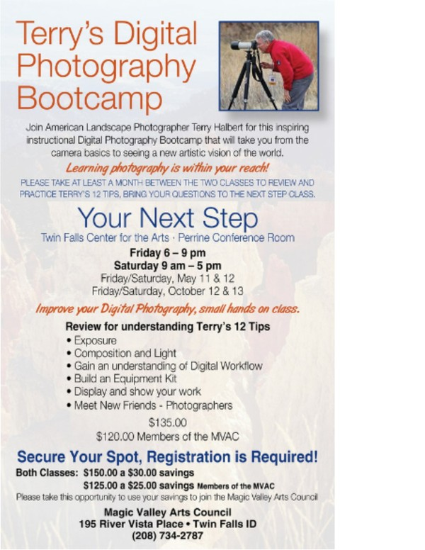 Terry Halbert's Oct Bootcamp 2018